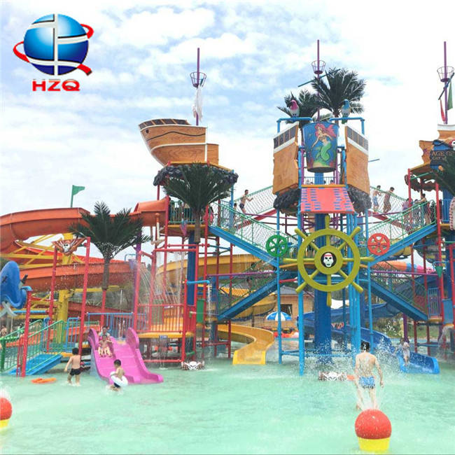 Waterpark equipment canal hotels equipment+wild water park