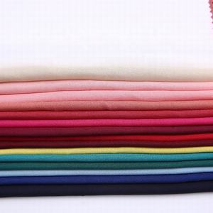 2019 super september fashion woven polyester material crepe dyed georgette fabric