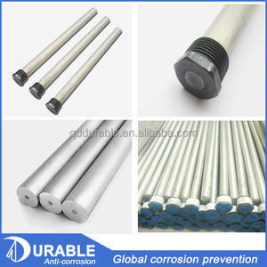 China magnesium alloy extrusion anode manufacturer AZ 31 Extruded magnesium anode rod