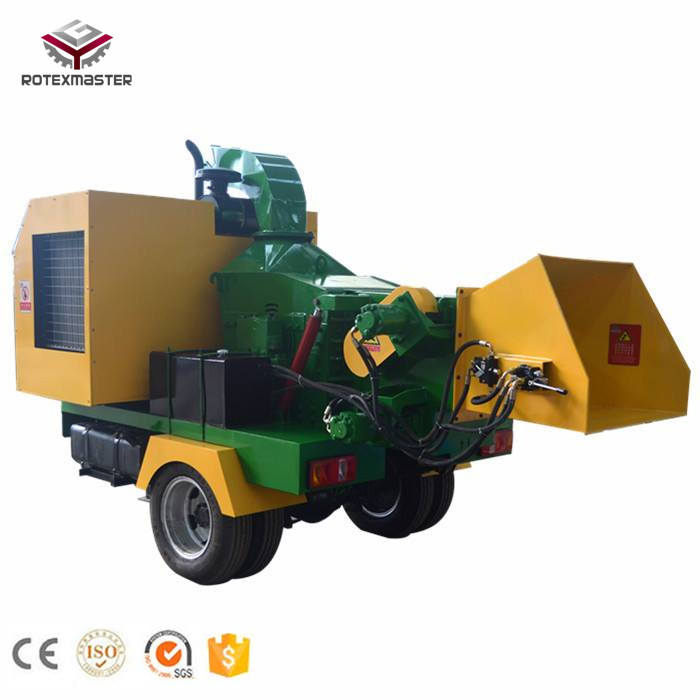 China Manufacturer Mobile 40HP Wood Chipper Diesel Engine