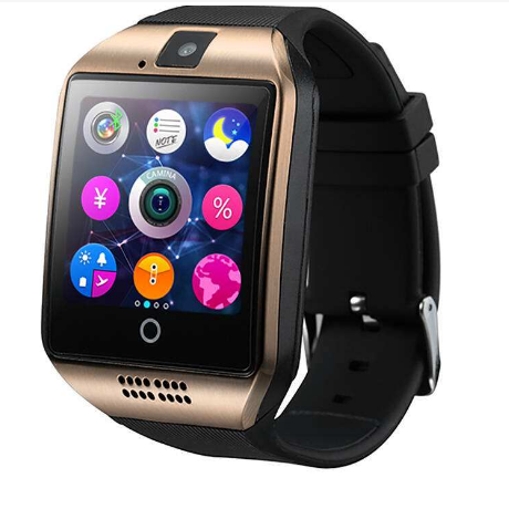 2019 amazon Q18 bluetooth Smart Watch Touchscreen with Camera,Unlocked Watch Cell Phone with Sim Card,Smart Wrist Watch
