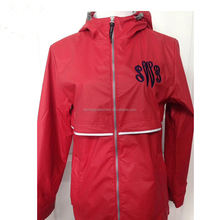 Wholesale Monogrammed Personalized Rain Jacket