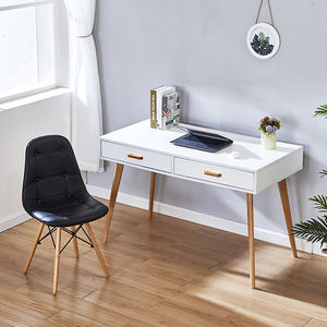 Modern Simple Study Computer Desk Industrial Style Folding Laptop Table for Home Office