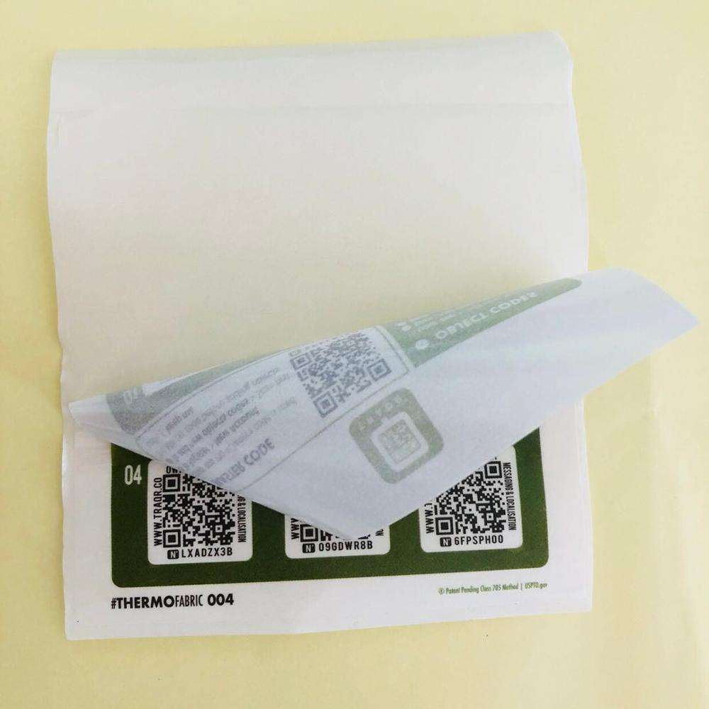 Custom Adhesive Dubbellaags En Multilayer Label Sticker Qr Code Roll Sticker Labels