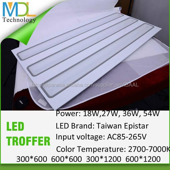 熱い販売のを導いた3年保証30x30天井パネルの光、 30x60、 60x60、 30x120、 60x120ledパネルライト