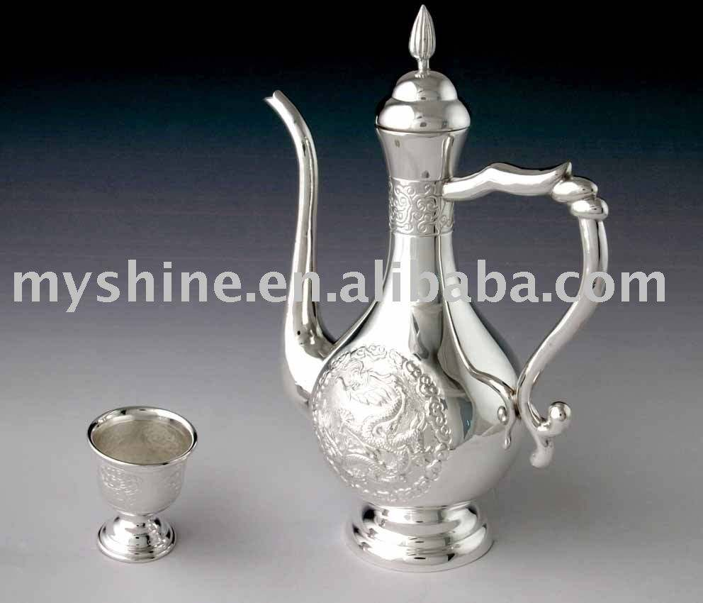 fashion classical style silver crafts no.2 silverware