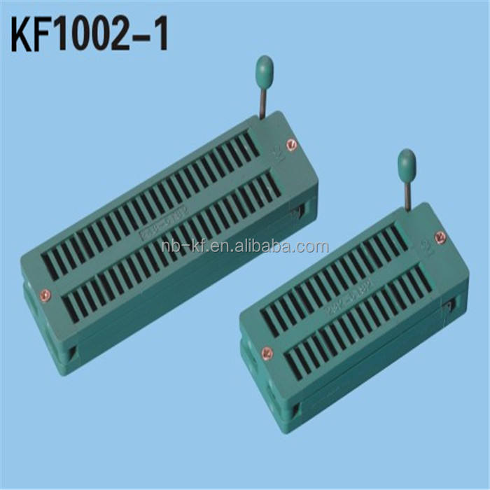 2.54 Mm 3 M 40 p IC test socket ZIF conector