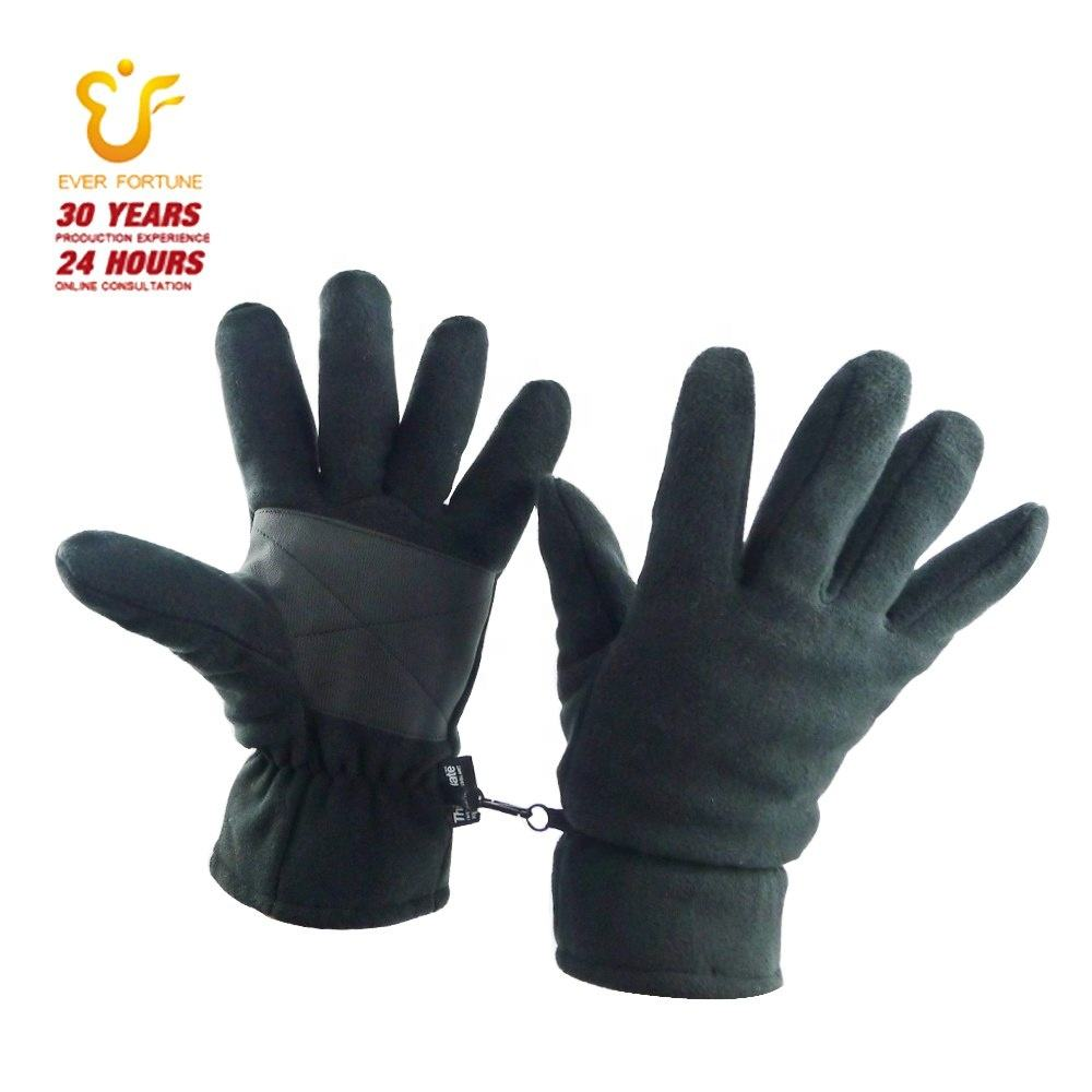 Winter warme fleece handschoenen met 3 M thinsulate 40 gram voering mannen vrouwen