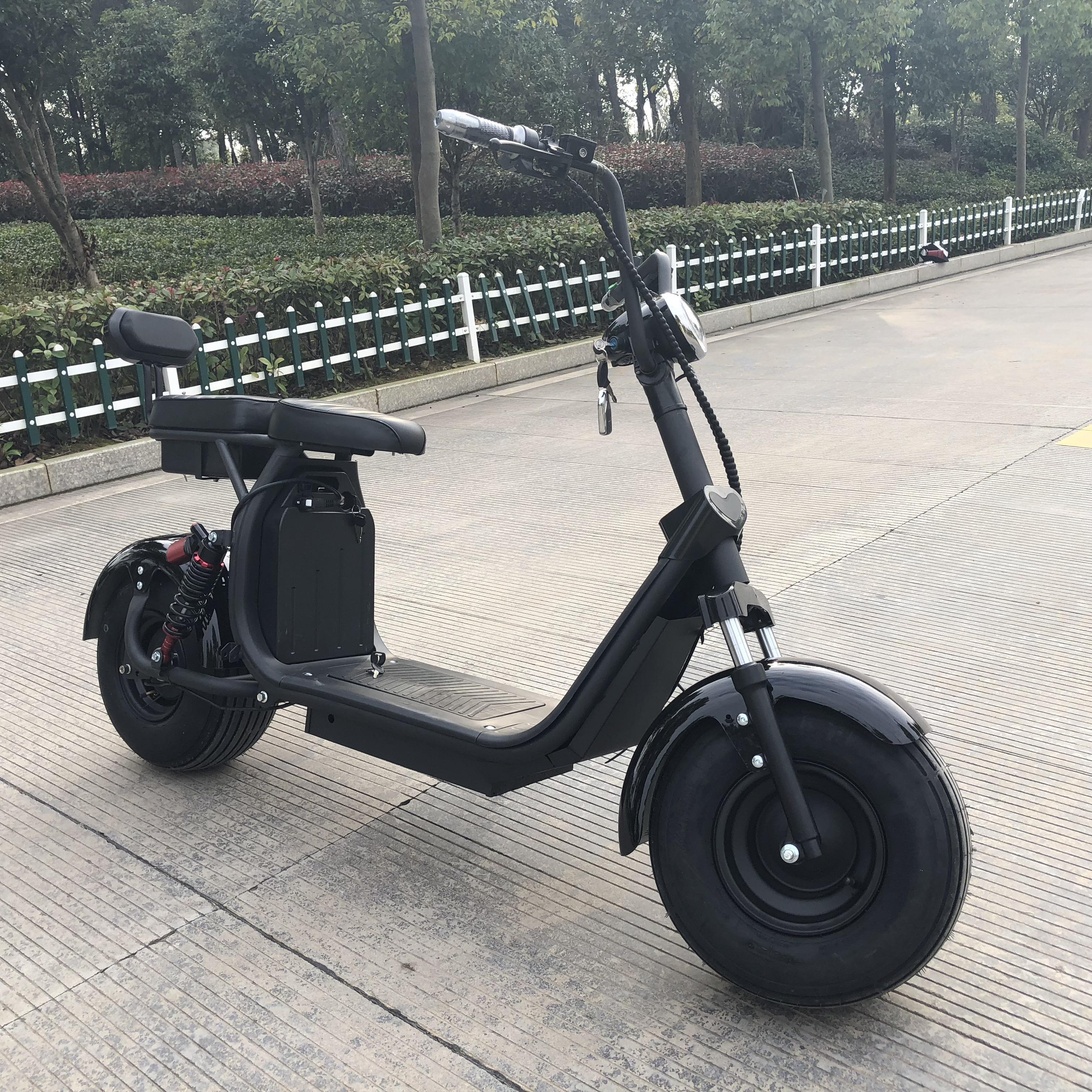 Newest arrival 3200W 60V electric motorcycle with new damping system stand up tricycle electric scooter for adults