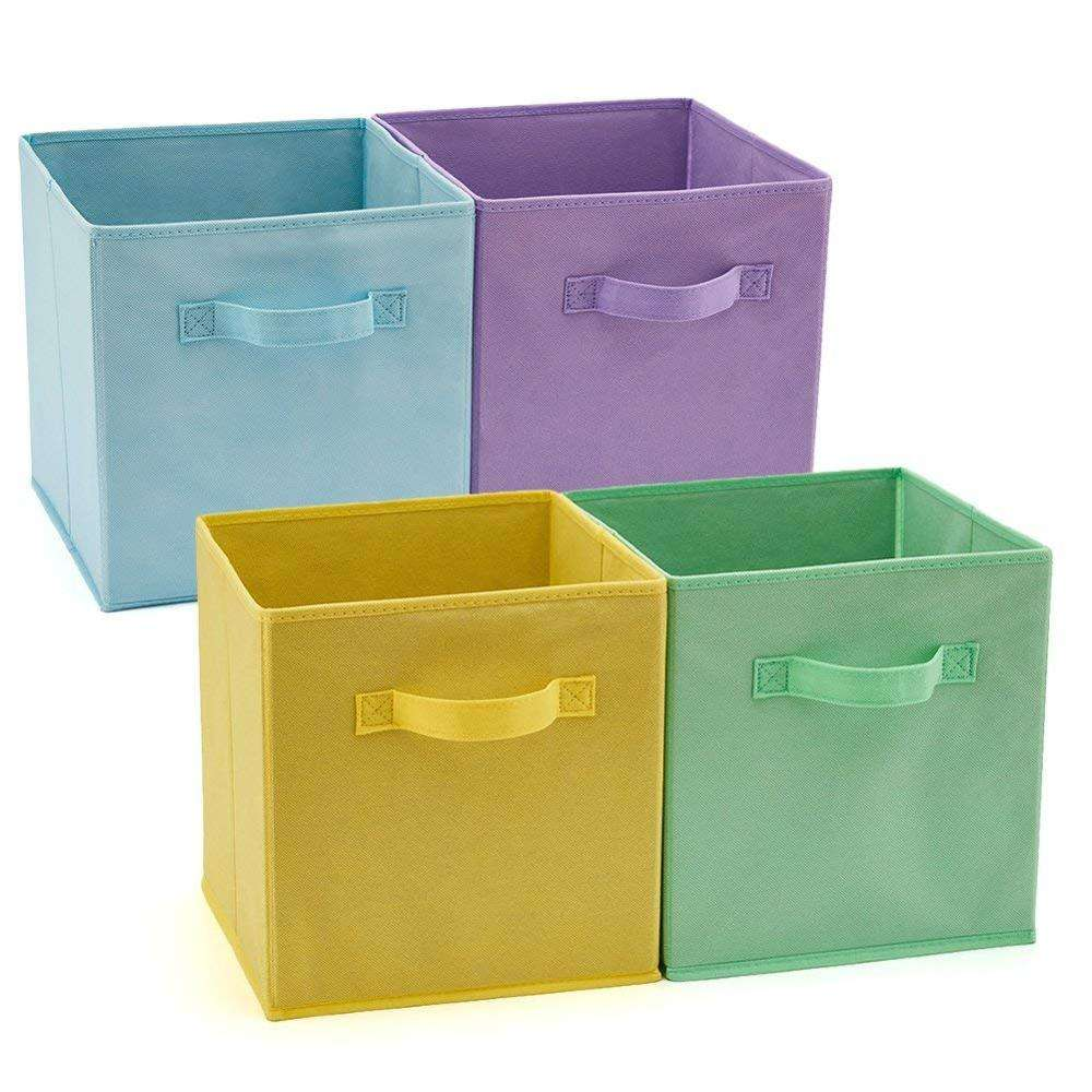 Non Woven Fabric Covered Cardboard Storage Box