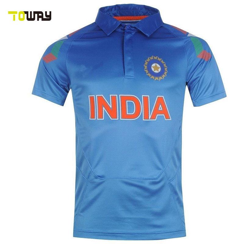 Inde nouveau modèle maillot de cricket coupe du monde 2015