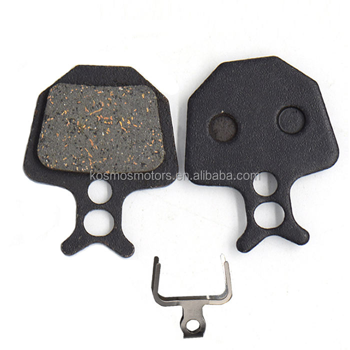 China Supply Semi Metalen Colophony Brake Pad En Disc Voor Mountainbike