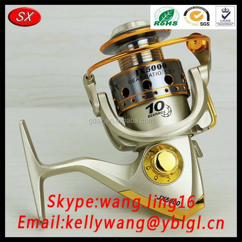 CNC Machining Parts(Aluminum/Stainless Steel 5 Axis Metal Spinning Reel Fishing Rod)