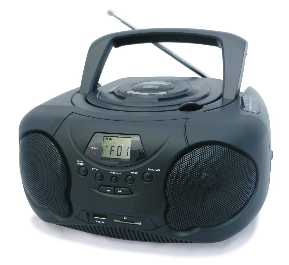 MP3 CD <span class=keywords><strong>USB</strong></span> SD boombox