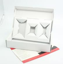 Recycled packaging box/boxes and packaging for electronic products
