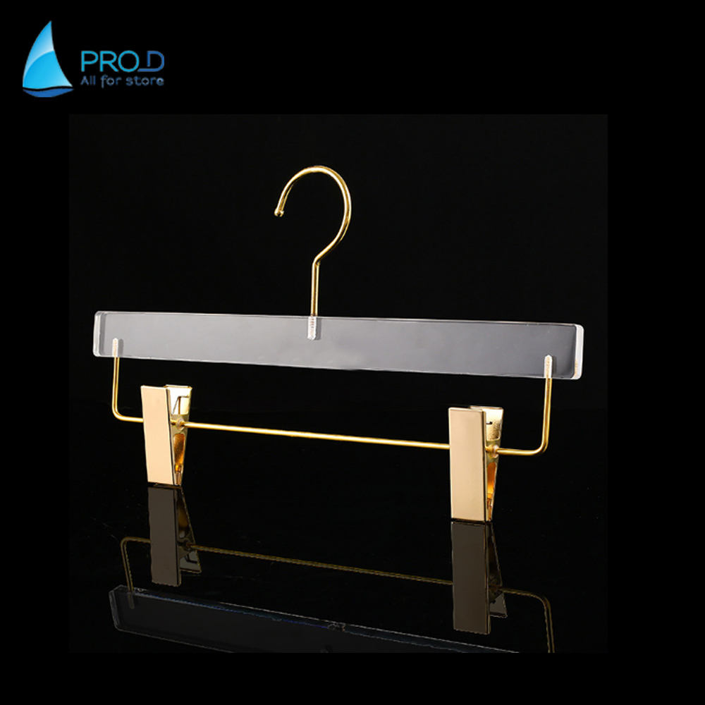 Wholesale High Quality Hot Sale Factory Price Cheap Clear Acrylic Clothes Hanger