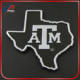 Texas A&M Aggies Car 3D Chrome Auto Emblem State ATM