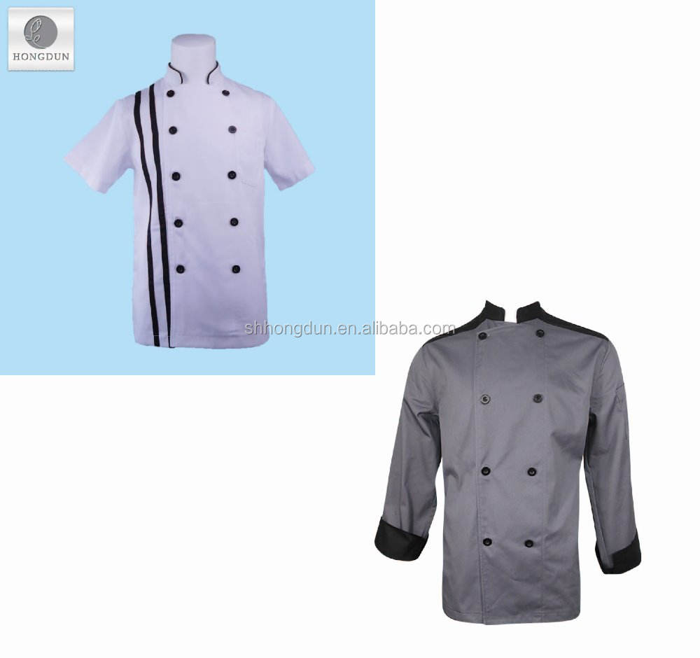 Custom moderne restaurant uniformen voor chef
