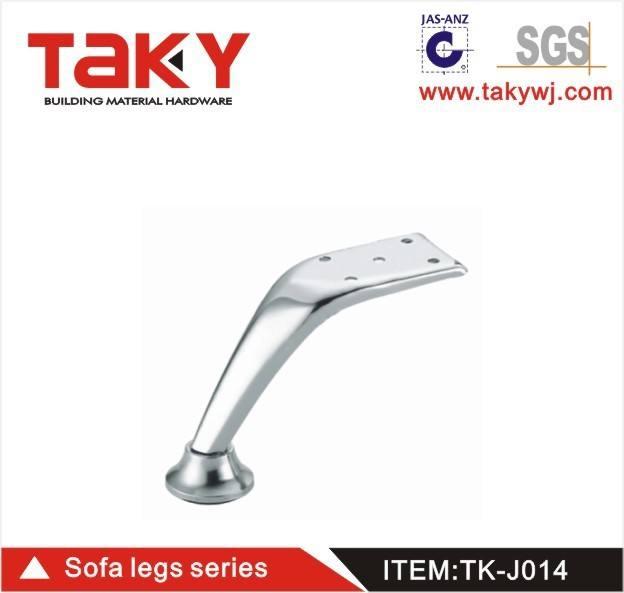 Pierna sofá TK-J014 gorras y patas metálicas para <span class=keywords><strong>muebles</strong></span> de heces y ajustable piernas