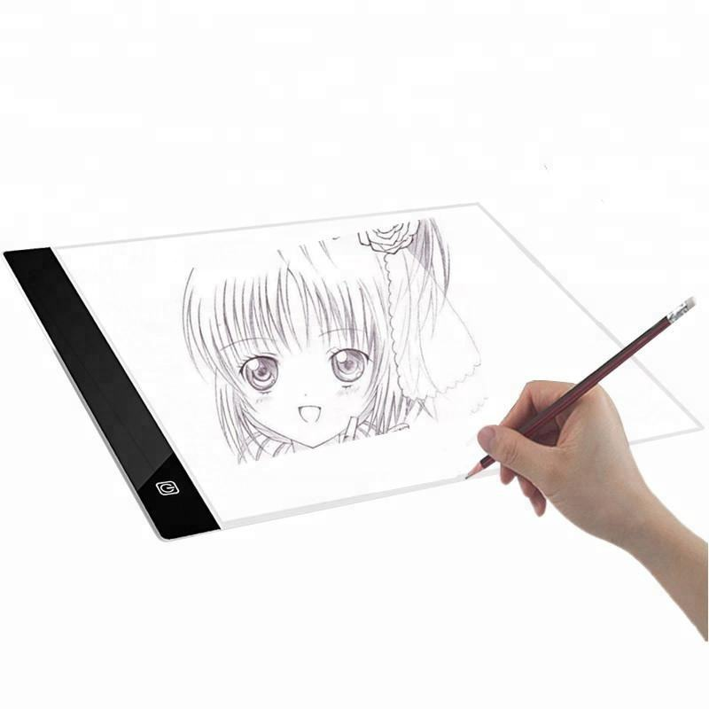 A4 Led Acrylic Writing Board Tracing Lightbox for Animation Drawing