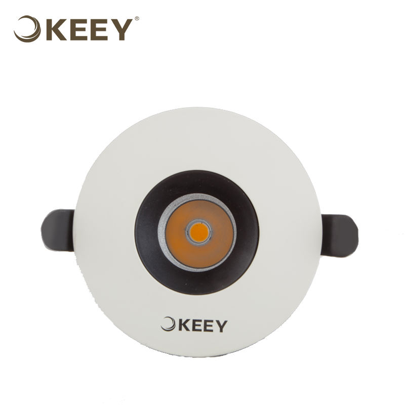 KEEY 10W High Quality Led Pop Ceiling Light COB Lighting Sourcs Adjustable Indoor Use QYR1-TH914