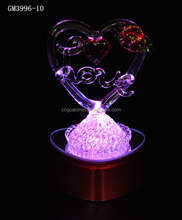 Heart Shaped LED Promotion Valentine Days Souvenir Gifts for Her