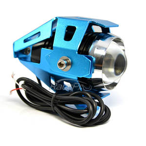 Transformers Gaya Ultra Terang Aluminium Tahan Air U5 Flashing LED Motor Cahaya Headlamp