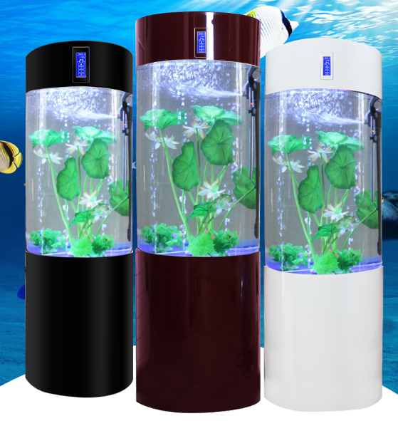 High quality floor stand Acrylic Aquariums clear acrylic fish tank