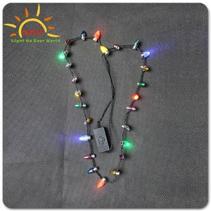 Cahaya Up LED Liburan Natal Mini Bola Kalung