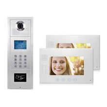 CAT5 Video Door Phone For Multi Apartments And High Buildings Video Intercom
