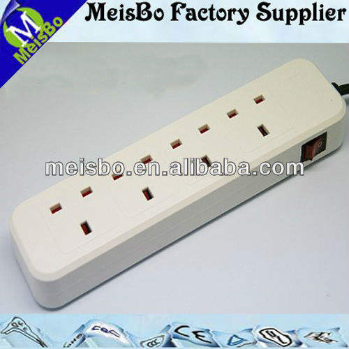 White 4 outlet 12v waterproof battery powered led strip light