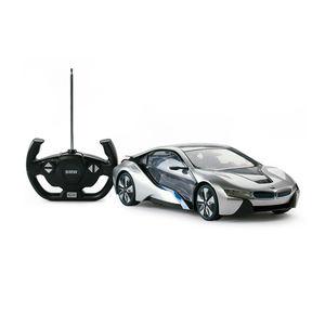 جعلت الهوى bmw i8 سيارة نوع 1/14 مقياس rastar rc لعبة نماذج bmw راديو السيارة السيطرة