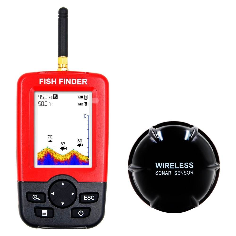 Portable Wireless Fish Finder with Sonar Sensor