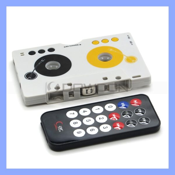 MP3 Cassette Tape for car Player