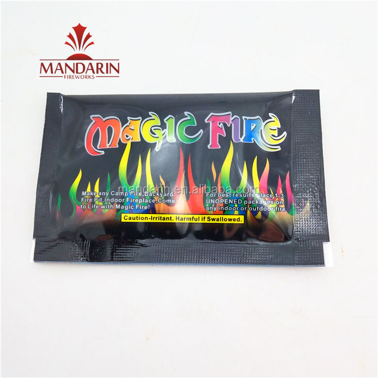 10g 15g 25g Mystical color fire magic Coloured Flames for Bonfire Fireplace