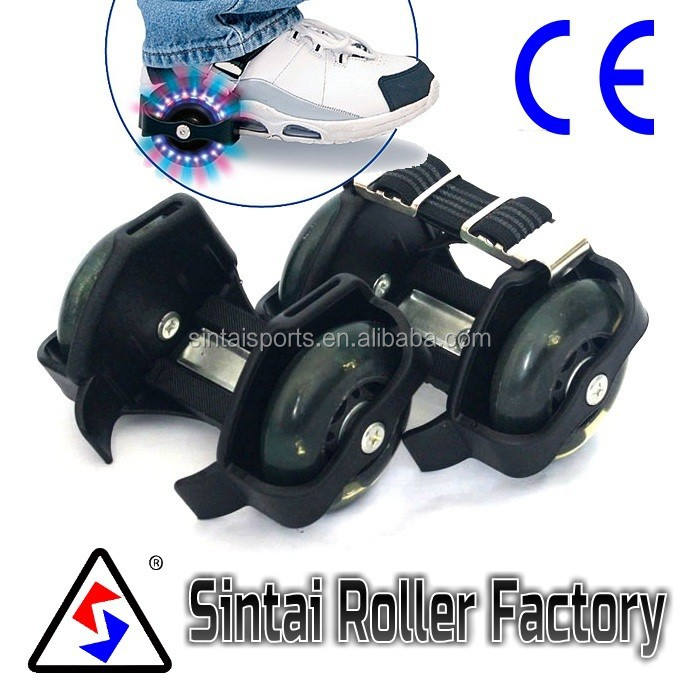 Adjustable Flashing Roller skate with CE