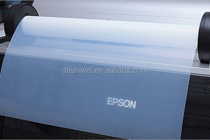 100micron A3 format inkjet printing PET film for positive screen printing