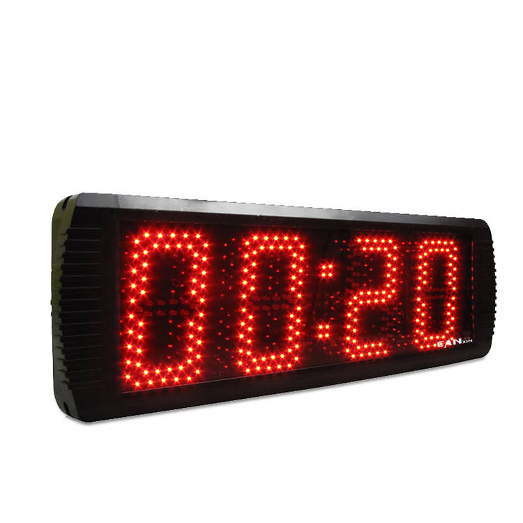 Competitive price large led display 4 digit countdown timer stopwatch