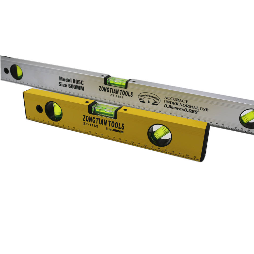 heavy duty measuring tool all size aluminium magnetic Spirit level