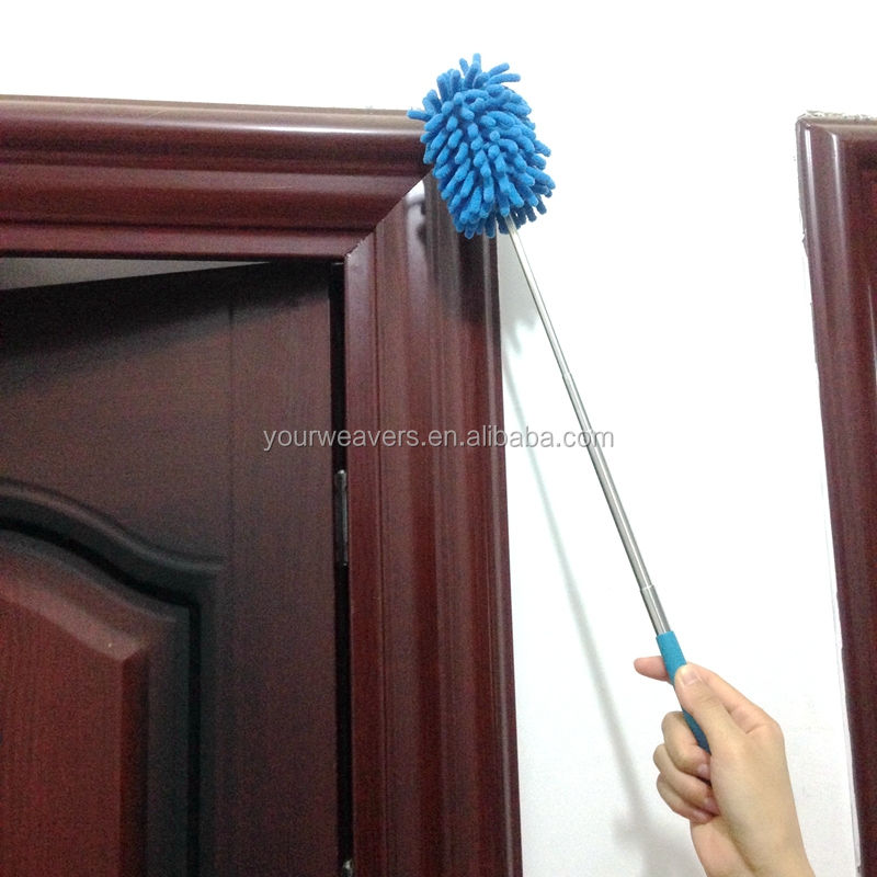 2017 Household Cleaning Telescopic Microfiber Chenille Mini Duster