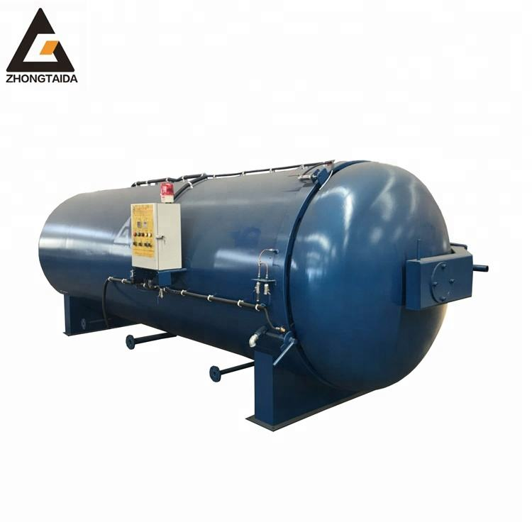 Electric Direct Heating Process Pressure Vessel Large / Automatic Electric Steam Rubber Autoclave