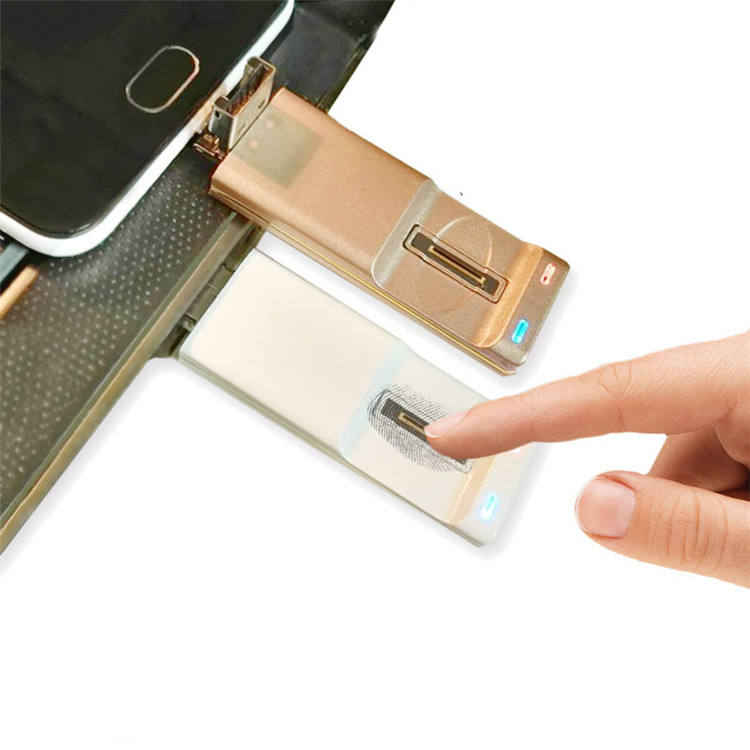 High Speed Finger print Lock USB 2.0 16GB USB Flash Drive