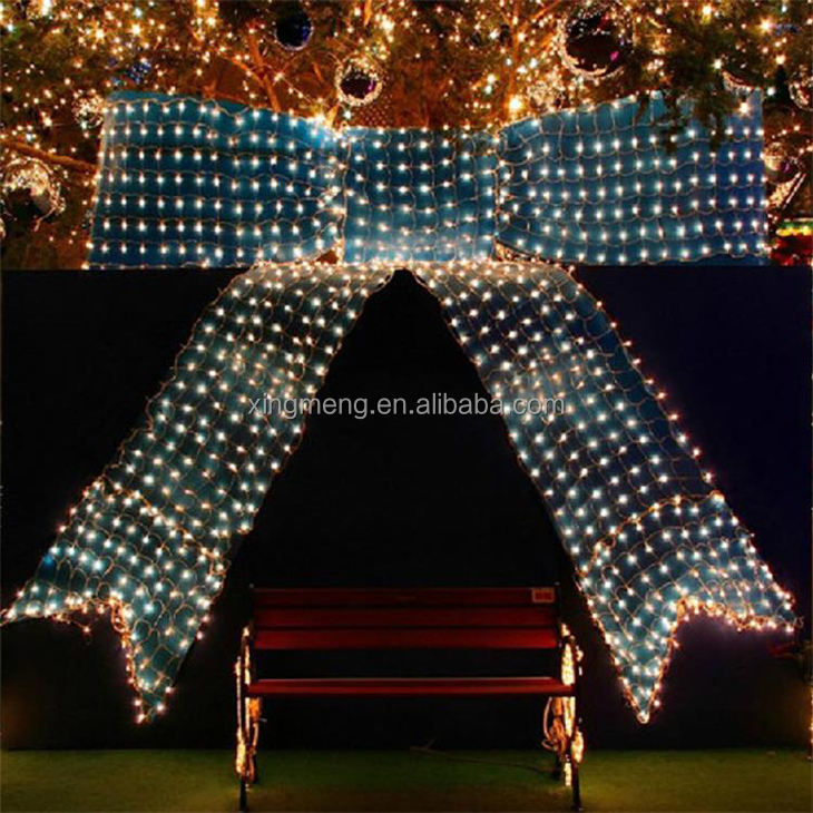 Wholesale 1.5X1.5m 96 Led Invisible Led String Lights Led Twinkle Net Light Fishing Net Light