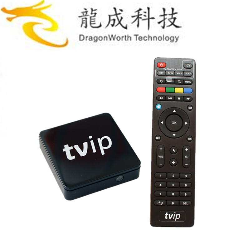 2019 Nuovo disegno TVIP S805 1G8G Linux android dual OS hd <span class=keywords><strong>video</strong></span> canzone download per uso medico Quad core smart tv box android