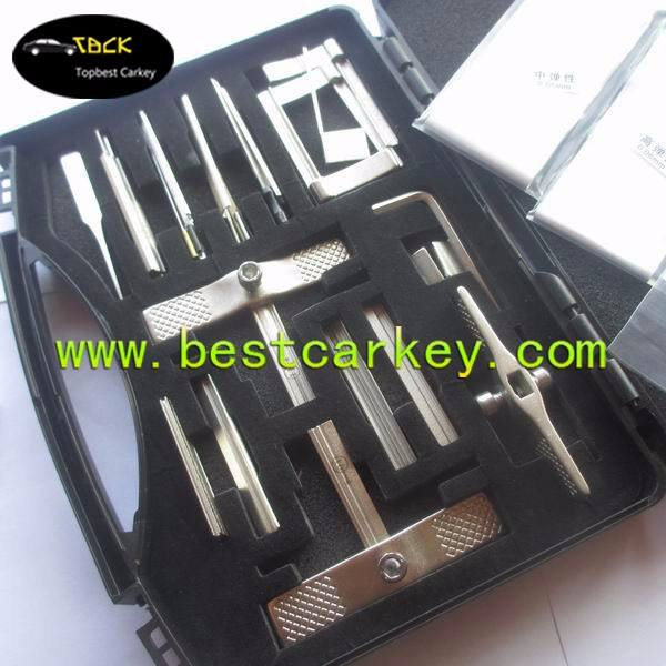 Hot selling 9 generation open lock tool for locksmith tools set