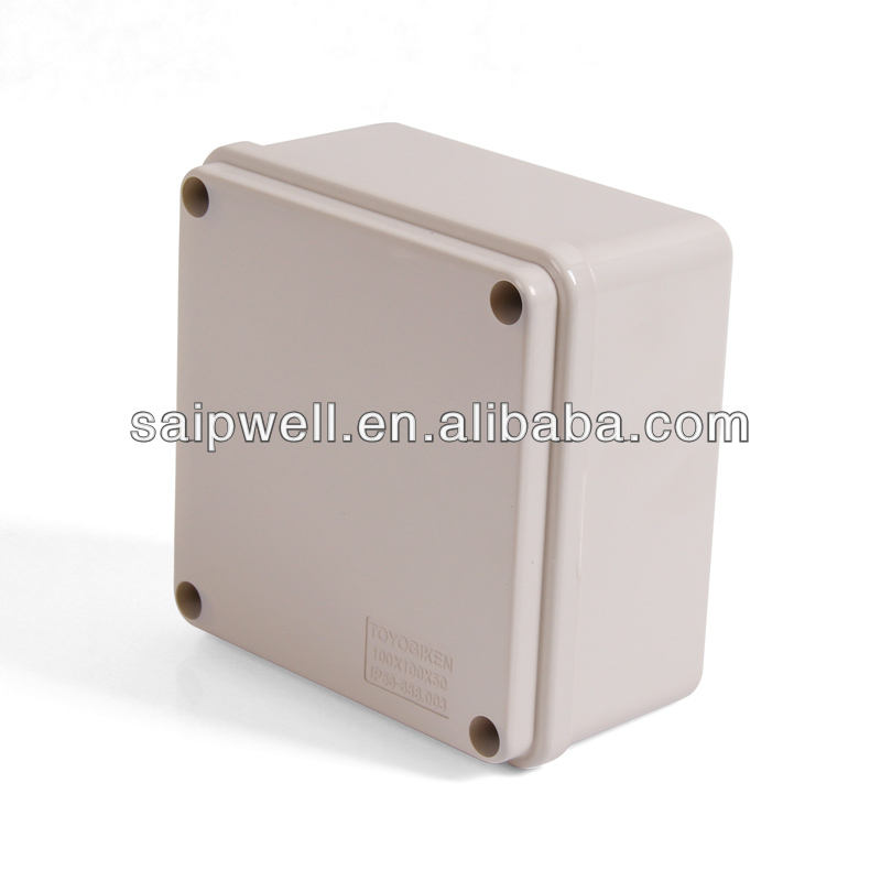 100*100*75 Waterproof Electric Plastic Switch Box with Screws (DS-AG-1010)