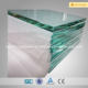 balcony fence toughened glass/fence glass with aluminum/stainless steel fittings