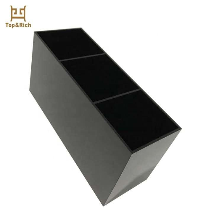 Hot Selling Factory Direct Supply Milieuvriendelijke Perspex Acryl Make-Up Borstel Display Stand