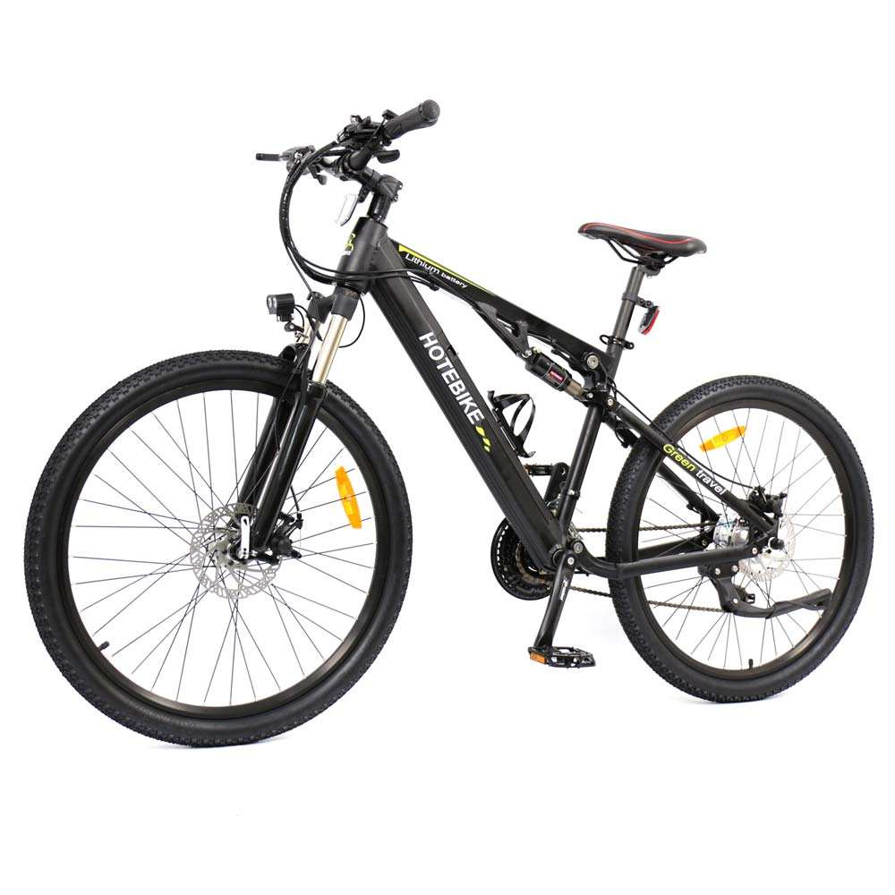 "Newest shuangye 26"" full suspension mtb electric bike"