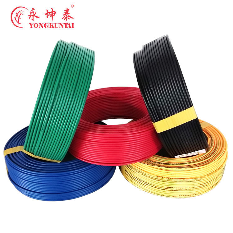 electric copper wire with PVC sheath , electric conduction functional electric copper wire cable